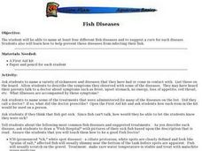 Fish Diseases Lesson Plan