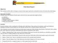 Fish Book Report Lesson Plan