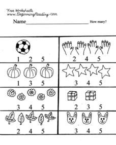 Beginning Counting Lesson Plan