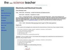 Electricity and Electrical Circuits Lesson Plan