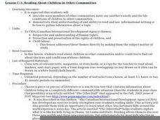 Reading About Children in Other Communities Lesson Plan