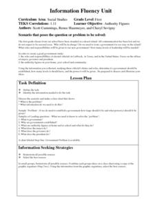 Authority Figures Lesson Plan