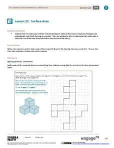 Surface Area II Lesson Plan