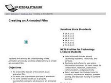 Creating an Animated Film Lesson Plan
