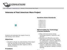 Veterans of Past American Wars Project Lesson Plan