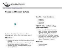 Mexico and Mexican Culture Lesson Plan