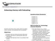 Enhancing Literacy with Podcasting Lesson Plan