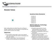 Monster Voices Lesson Plan