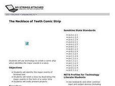 The Necklace Of Teeth Comic Strip Lesson Plan