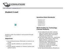 Student E-mail Lesson Plan