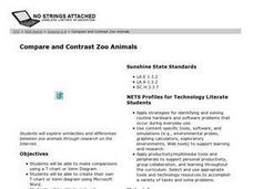 Compare and Contrast Zoo Animals Lesson Plan