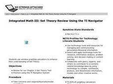 Set Theory Review Using the TI Navigator Lesson Plan