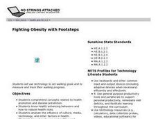 Fighting Obesity with Footsteps Lesson Plan