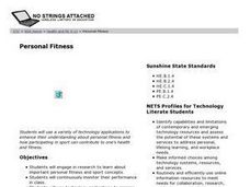 Personal Fitness Lesson Plan