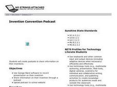 Invention Convention Podcast Lesson Plan