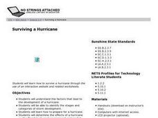 Surviving a Hurricane Lesson Plan
