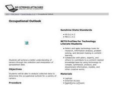 Occupational Outlook Lesson Plan