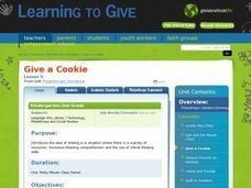 Philanthropic Literature: Give a cookie Lesson Plan