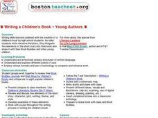 Writing a Children's Book -- Young Authors Lesson Plan