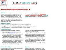 Honoring Neighborhood Heroes Lesson Plan