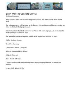 Berlin Wall: The Concrete Canvas (Lesson 1) Lesson Plan
