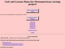 Mesoamerican Carving Project Lesson Plan