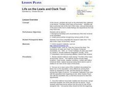 Life on the Lewis and Clark Trail Lesson Plan