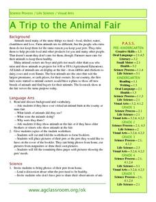 A Trip To the Animal Fair Lesson Plan
