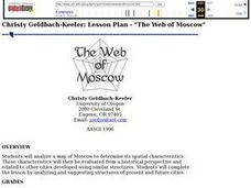 The Web of Moscow Lesson Plan