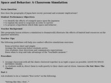 Space and Behavior: A Classroom Simulation Lesson Plan