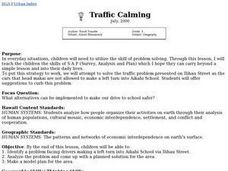 Traffic Calming Lesson Plan
