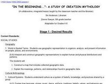 Creation Mythology Lesson Plan