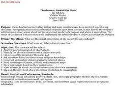 Theobroma - Food of the Gods Lesson Plan