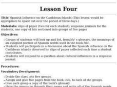 Spanish Influence on the Caribbean Islands Lesson Plan