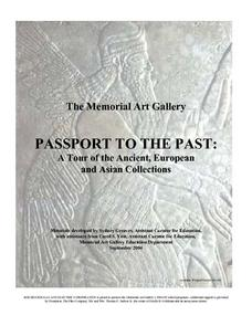 Passport To the Past: A Tour of the Ancient, European and Asian Collections Lesson Plan