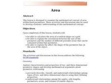 Area Applet Lesson Plan