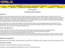 Predicting Lunar Eclipses Lesson Plan
