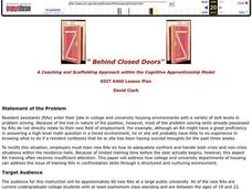 Behind Closed Doors Lesson Plan