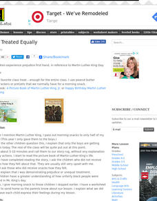 Being Treated Equally Lesson Plan