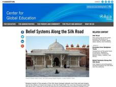 Belief Systems Along the Silk Roads Lesson Plan