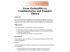 From Probability to Combinatorics and Number Theory Lesson Plan