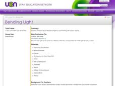 Bending Light Lesson Plan