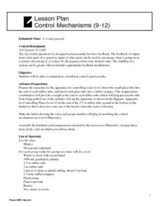 Control Mechanisms Lesson Plan
