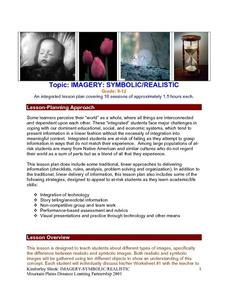 Imagery: Symbolic/realistic Lesson Plan