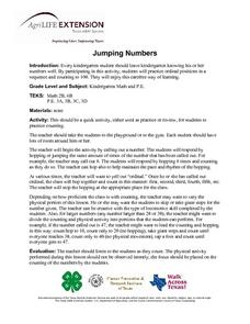 Jumping Numbers Lesson Plan