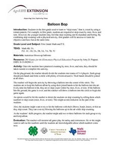 Balloon Bop: Skip Counting Lesson Plan