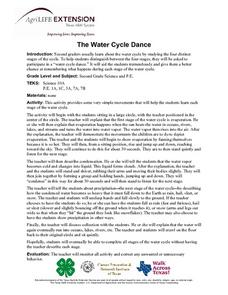 The Water Cycle Dance Lesson Plan