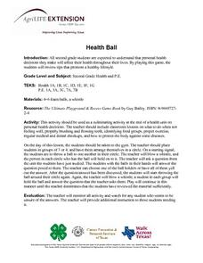 Health Ball Lesson Plan