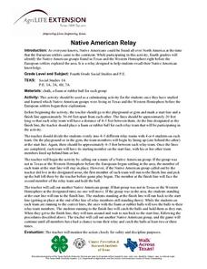 Native American Relay Lesson Plan