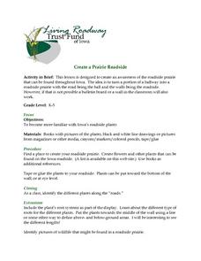 Creating The Roadside Prairie Lesson Plan